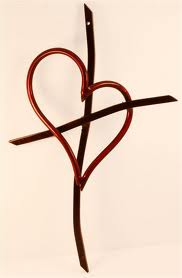 Heart and Cross Image
