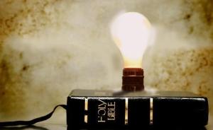 Bible Light Bulb Image