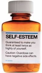 Self-Esteem pill bottle